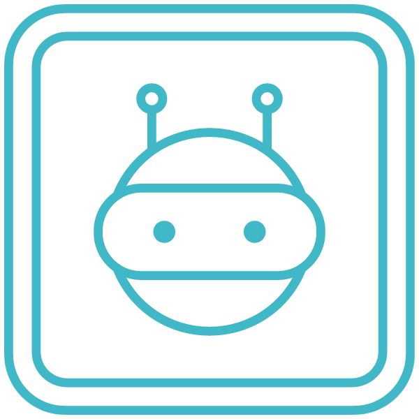 chatbot interface icon